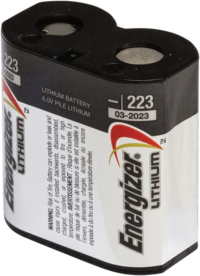 Energizer Photo 223 Battery Lithium Single Pack Elektronik