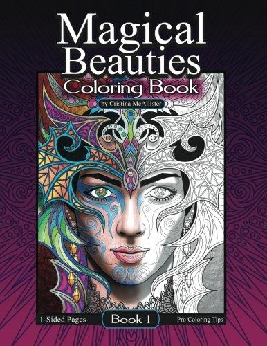 (Magical Beauties Coloring Book: Book 1 (Volume 1))