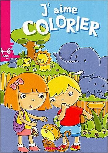 Livre gratuits J'aime colorier (4-6 ans) zoo epub, pdf