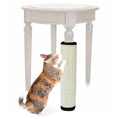ASOCEA Protector de Muebles Cero Juguete, Sisal Gato rasguñando Post Juguete para Gatos Catnip Torre