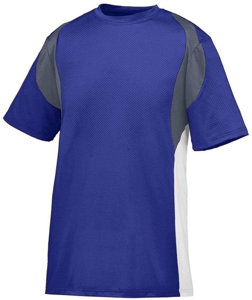 Augusta SportswearメンズQuasarジャージー B00HJTJSVW Medium|パープル/グラファイト/ホワイト(Purple/Graphite/White) パープル/グラファイト/ホワイト(Purple/Graphite/White) Medium