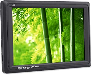FEELWORLD FW279 7 Inch 2200nit Ultra Bright DSLR Camera Field Monitor High Brightness Sunlight Viewable Full HD 1920x1200 4K HDMI Input Output