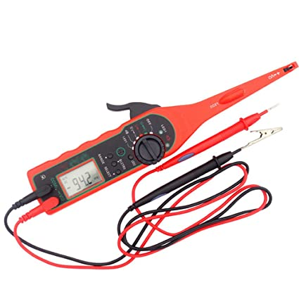 amazon com auto circuit tester multimeter lamp car repair rh amazon com Circuit Tester Clip On Ideal Circuit Tester