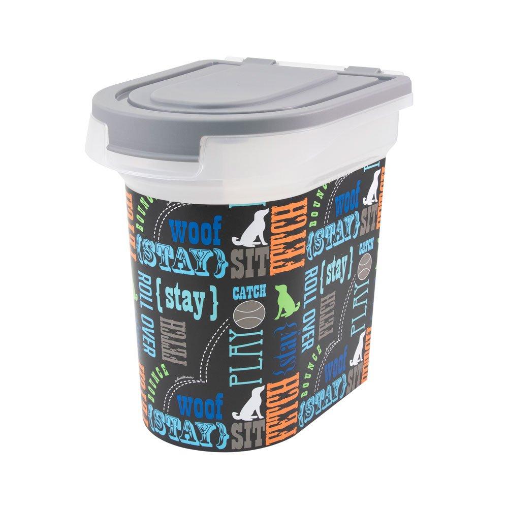 Paw Prints 37715 15 lb. Pet Airtight Food Storage Container, 12.5'' L x 9.75'' W x 13.38'' H