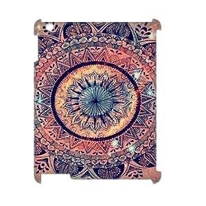 Mandala DIY 3D Cover Case for Ipad2,3,4,Mandala custom 3d cover case