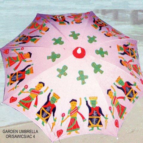 Kalinga Handicrafts Garden Umbrella with Art design
