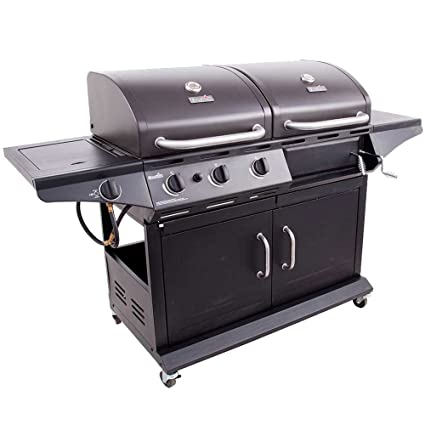 Amazon.com : Char-Broil - Combo Charcoal/Gas Grill - Black ...