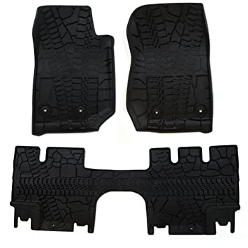 mats and s slush oem door jeep floor wrangler front rear of set p unlimited