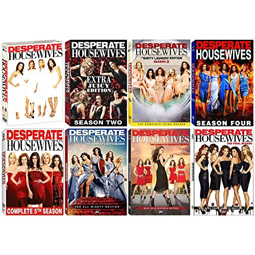 Desperate Housewives: Complete TV Series Seasons 1-8 DVD Collection (Desperate Housewives Complete Box Set 1 8)