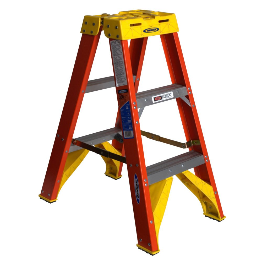 Werner Step Ladder Lowes Awesome Heavy Duty Step Stool