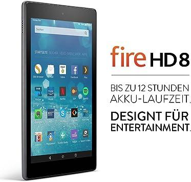 Fire Hd 8 Tablet 20 3 Cm 8 Zoll Hd Display Wlan 32 Gb Schwarz Mit Spezialangeboten Amazon Devices