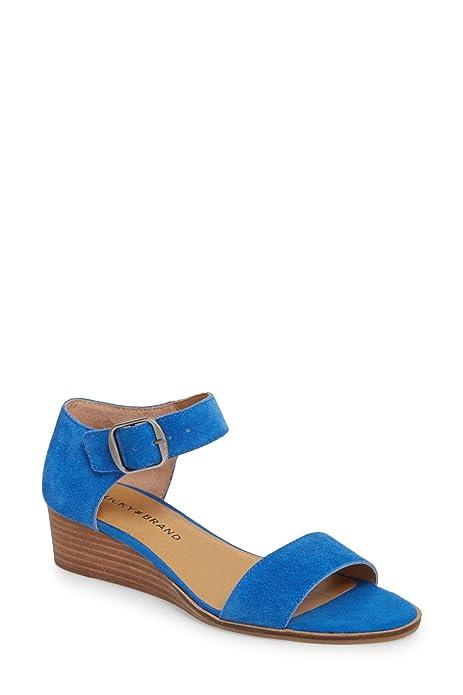 08000d5578 Lucky Brand Womens Riamsee Wedge Sandal: Amazon.ca: Shoes & Handbags