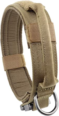 Yunlep Tactical Dog Collar