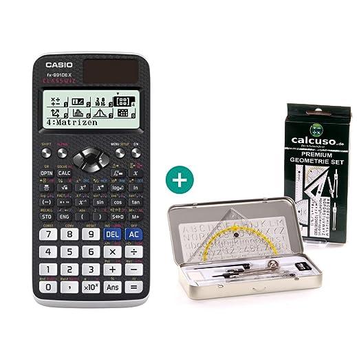Sharp EL W550XG Taschenrechner Premium GeometrieSet