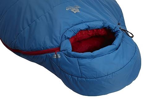 Mountain Equipment fibra sintética Saco de dormir, unisex, Empire Blue, RZ