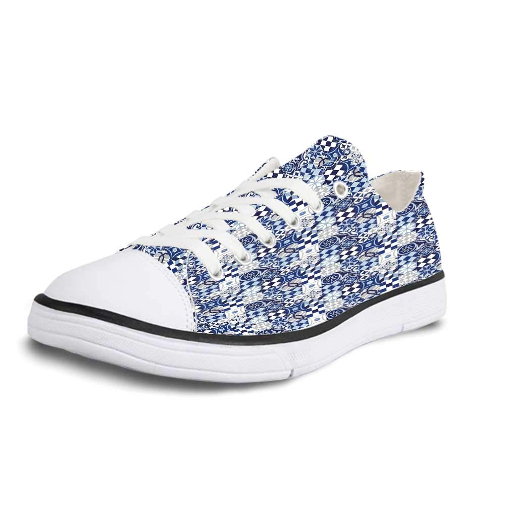 Animal Print Decor Soft Low Top Canvas ShoesLeopard Animal Print Stylized Artistic Design Creative Contemporary Artwork for Women,US 5