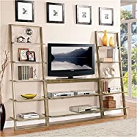 Beaumont Lane TV Stand in Smoky Driftwood