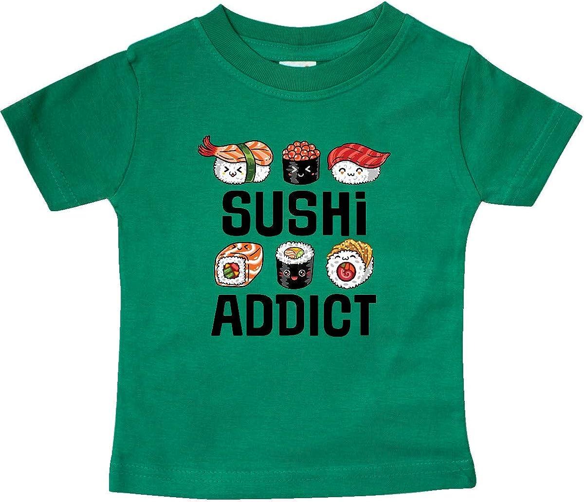 inktastic Sushi Addict Funny Sushi Gift Baby T-Shirt