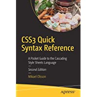 CSS3 Quick Syntax Reference: A Pocket Guide to the Cascading Style Sheets Language