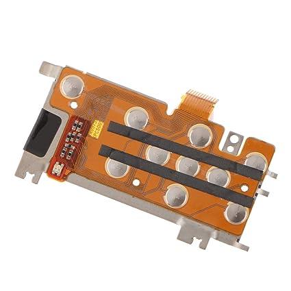Baoblaze Menú Teclado Botón Tablero Flex Cinta Cable Reparación para Nikon Coolpix S3100