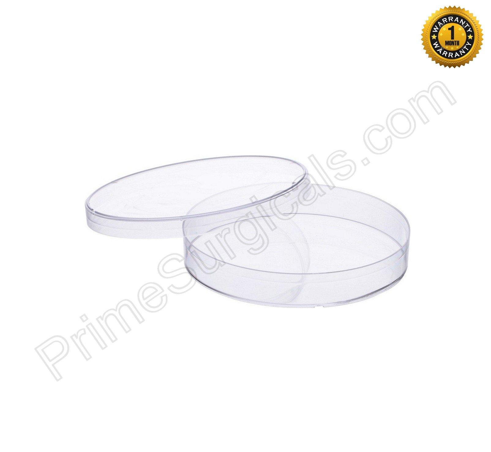 Petri Dish, Polypropylene (PP) - Pack of 36 Pcs. (100mm)