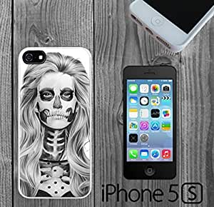 Day of the Dead Skull Girl Sexy Custom made Case/Cover/skin FOR iPhone 5/5s