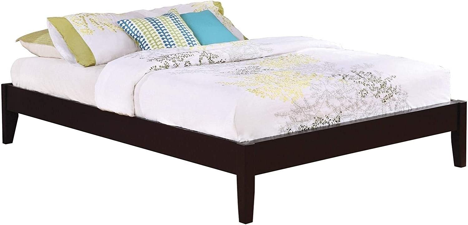 Coaster Home Furnishings Platform Bed, Cappuccino