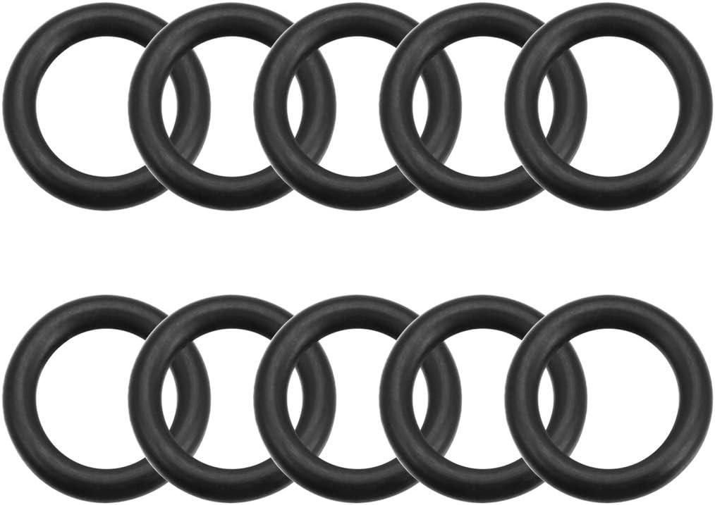 Pack of 20 Round Seal Gasket 28.8mm Inner Diameter O-Rings Nitrile Rubber 3.1mm Width 35mm OD