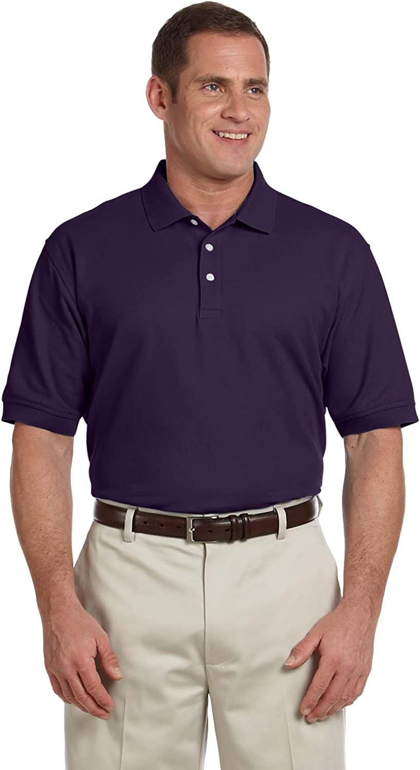 Devon & Jones Men's Pima Pique Polo Shirt