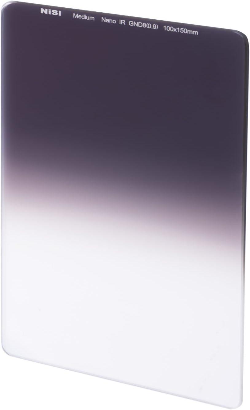 0.6 ND4 NiSi NIP-100-MGND0.6 100x150mm Nano IR Medium Graduated Neutral Density Filter 2 Stop