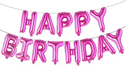 16 inch Aluminum Foil Balloon (pink)