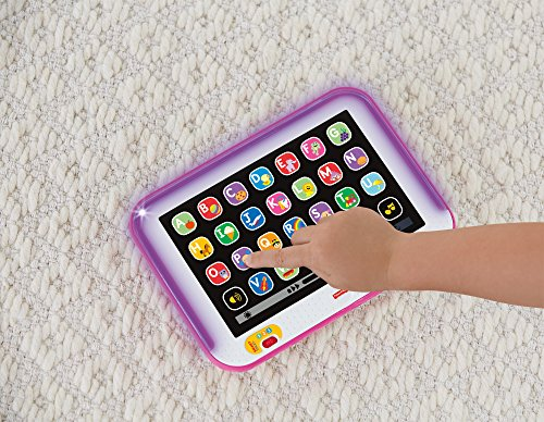 618dTuWcOnL - Fisher-Price Laugh & Learn Smart Stages Tablet, Pink
