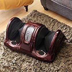 Best Choice Products Shiatsu Foot Massager Kneading and Rolling Leg Calf Ankle with Remote
