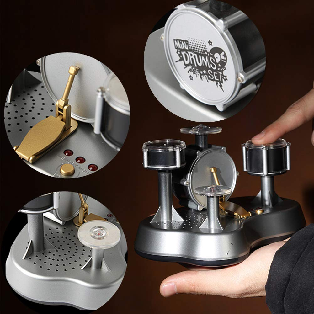 Tap Keyboard Instrument,Catkoo Creative Mini Finger Drum Set Children Desk Touch Drumming Musical Toy Gift by LeSharp