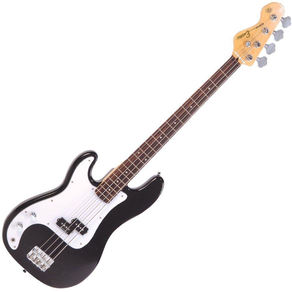 Encore LH-E4BLK E4 Hochglanz Blaster linkshänder Bassgitarre schwarz