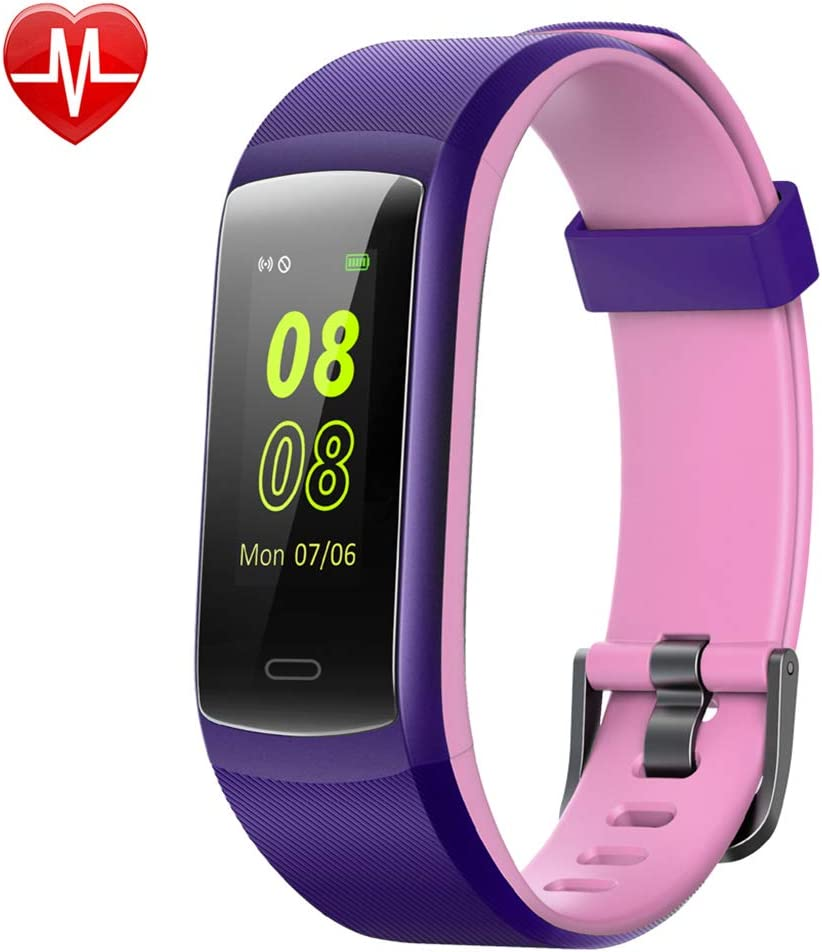Willful Fitness Tracker 2019 Version Color Screen IP68 Swimming Waterproof, Heart Rate Monitor Fitness Watch with Step Counter Sleep Tracker Call Message Alerts Vibration Alarm Clocks for Women Men