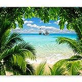 artgeist Photo Wallpaper Beach Sea 118'x83' XXL Non-Woven Wall Mural Premium Print Fleece Picture Image Design Home Decor c-A-0047-a-a