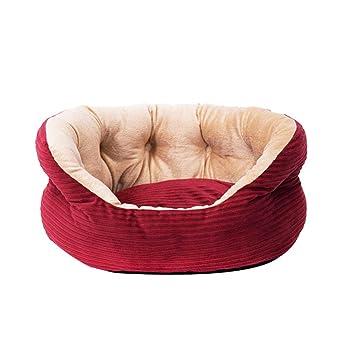 casas para perros interiores Cama para mascotas con colchón lavable de forma rectangular Cama para mascotas