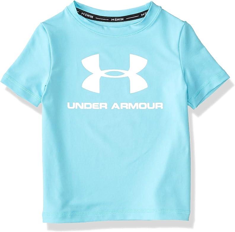 Under Armour UA Big Logo Surf Shirt Camisa de protección de Sarpullido, Surfs hasta Sp20, 2 años para Niños: Amazon.es: Ropa y accesorios