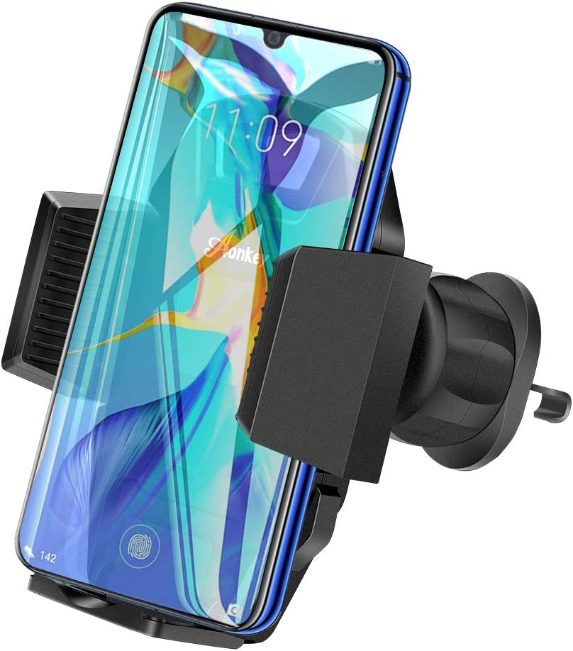 Car Vent Phone Mount AONKEY Cell Phone Holder Adjustable Hook Clip Cradle Universal for All Smartphones Include iPhone 11 Pro//11 Pro Max//XR//XS//XS Max//X//8//7 Galaxy S9//S10//S10 Plus Note 9//Note 10 Plus