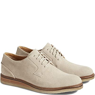 Sperry Gold Elite Plain Toe Oxford (10, CEMENTSUEDE) | Oxfords