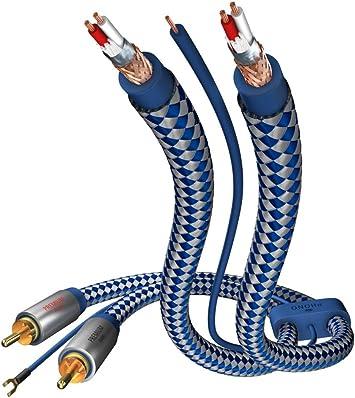 Inakustik C/âbles phono Premium Phono Cable 1,5 m