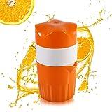 Exprimidor manual portátil,Oummit Exprimidor para naranjas y limón Mini Presse-fruits de Mano,Retorno a la…