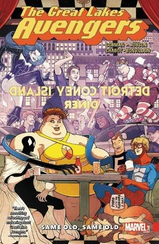 Great Lakes Avengers: Same Old, Same - Great Store Lakes