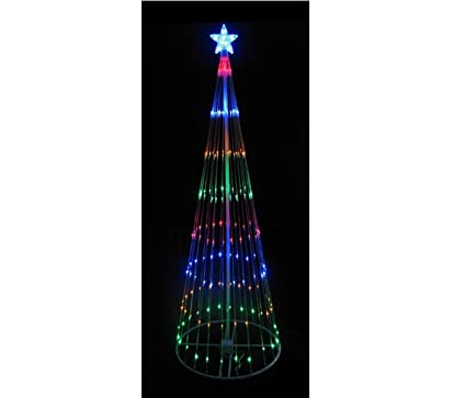 Amazon.com: Northlight 4' Multi-Color LED Light Show Cone Christmas ...