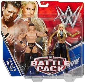 World Wrestling Entertainment WWE Pack de Lucha Serie 46 Figura de Acción - The Miz & Maryse The It Pareja de WWE : Amazon.es: Juguetes y juegos