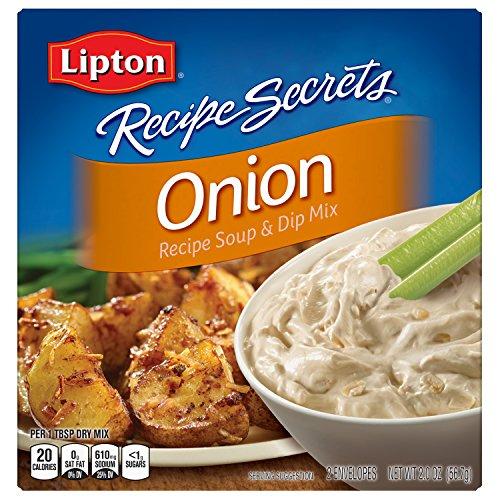 Lipton Recipe Secrets Soup and Dip Mix, Onion 2 oz Dry Onion Soup