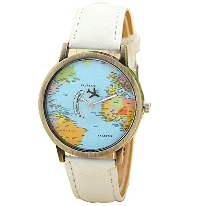 vansvar band item new fabric plane map women travel watches global watch denim dress by