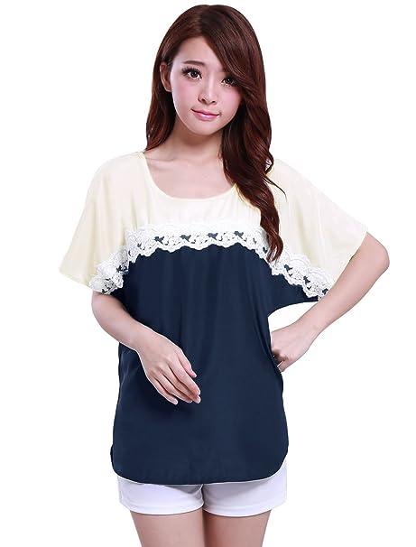 Allegra pantalones de deporte para mujer K Color patrones de costura para camisas de manga corta