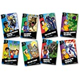 Project X Alien Adventures: Dark Blue Book Band, Oxford Levels 15-16: Dark Blue Book Band, Mixed Pack of 8